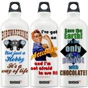 funny gift water bottles