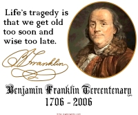 Ben Franklin on Life's Tragedy
