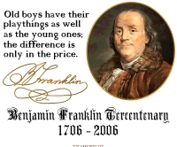Ben Franklin on Boys' Toys