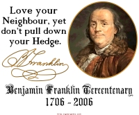 Ben Franklin on Neighbors