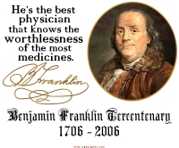 Ben Franklin on Doctors