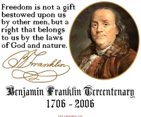 Ben Franklin on Freedom