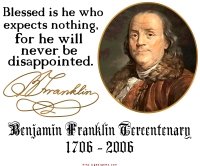 Ben Franklin on Expectations