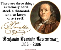 Ben Franklin 3 Hard Things