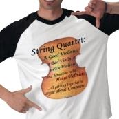 violinist violist cellist gifts