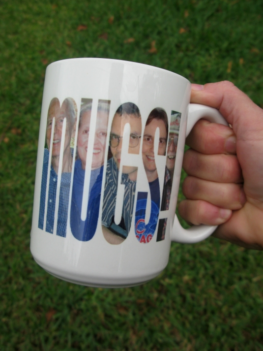 unique personalized photo mug
